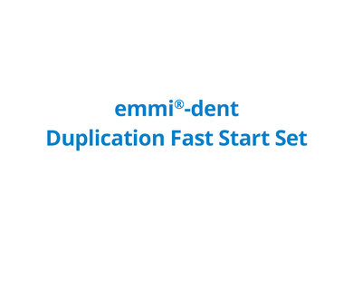 emmi®-dent Duplication Fast Start Set