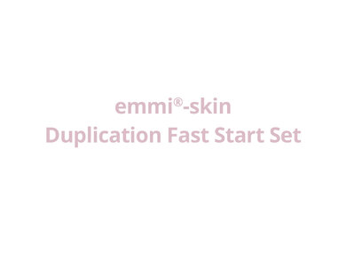 emmi®-skin Duplication Fast Start Set